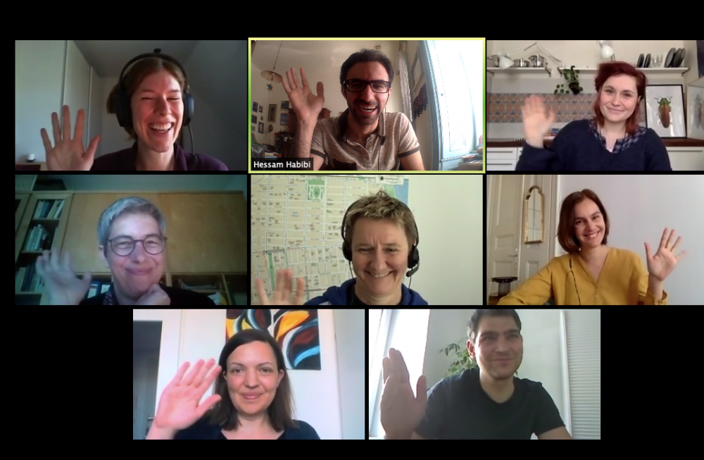 Screenshot vom Teammeeting