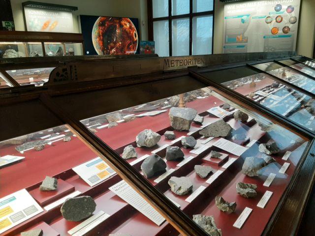 Meteoriten im Weltraum